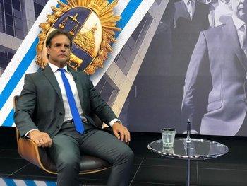 El presidente presentó ayer en el Parlamento el balance de su primer año de gobierno