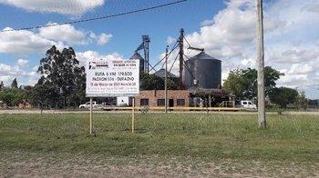 La fracción de campo es una explanta de silos.