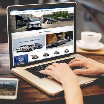 Nueva tienda online de Hyundai