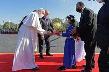 El papa Francisco hace una histórica visita a Irak