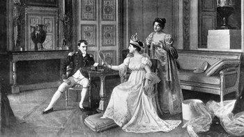 El romance entre Napoleón y Josefina comenzó en otoño de 1795