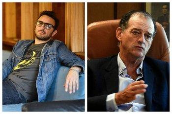 El músico y el senador tuvieron un intercambio en Twitter luego de las declaraciones de Brancciari en La letra chica