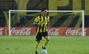 Maximiliano Pereira pudo debutar en la Primera de Peñarol