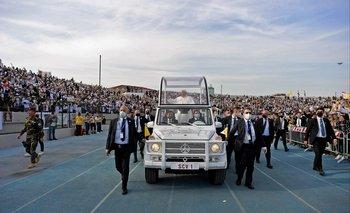 El Papa Francisco concluye su histórica visita a Irak con una misa multitudinaria en Erbil