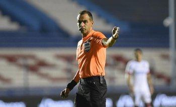 Esteban Ostojich, el juez uruguayo en la Copa América
