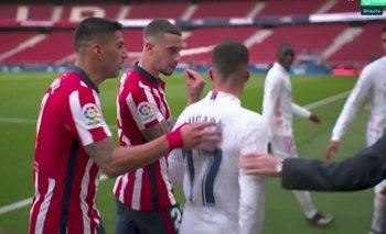 Suárez, Hermoso y Lucas Vázquez