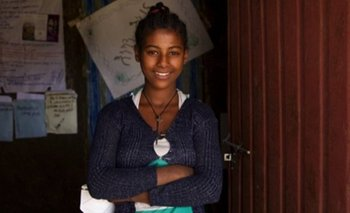 Abeba logró evitar su matrimonio pero su familia la sigue presionando