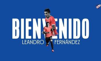 La llegada de Fernández a Nacional en redes