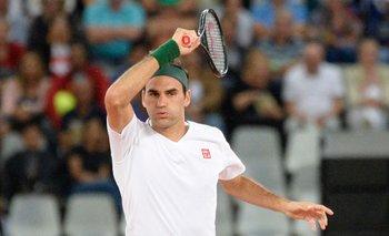 La última vez de Federer en una cancha, en febrero 2020 en Ciudad del Cabo
