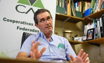 Pablo Perdomo, presidente de CAF