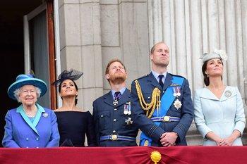 Realeza británica en Cambridge