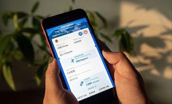Pasaporte digital sanitario lanzado por China