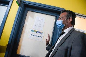 El minstrro de Salud Daniel Salinas habló sobre el hallazgo de la cepa brasileña P.1