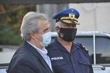 El ministro Jorge Larrañaga se reunió con el sindicato policial, que lo puso al tanto de las publicaciones