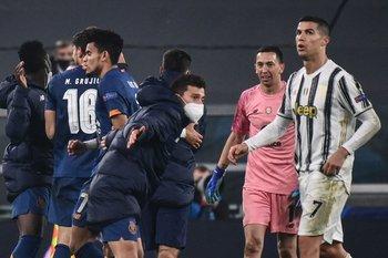 El dolor de Cristiano Ronaldo al final