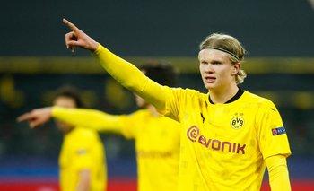 Haaland, figura del Dortmund