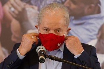 El expresidente brasileño Lula da Silva
