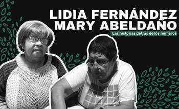 Lidia Fernández y Mary Abeldaño eran amigas y cuñadas,