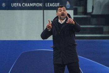 Sergio Conceicao durante el partido contra Juventus