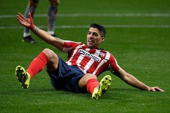 El gol 500 se le resiste a Suárez