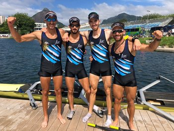 Kluver, López, Rodas y Cetraro oro contra Brasil en Río