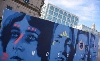 Murales por el Día de la Mujer