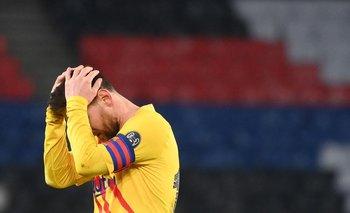 El final de Lionel Messi en Barcelona