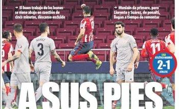 Portada de Mundo Deportivo