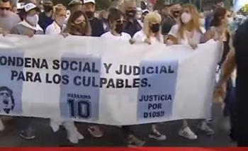 Marcha por Maradona