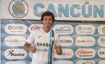 Nicolás Lugano llegó a México en enero de 2021