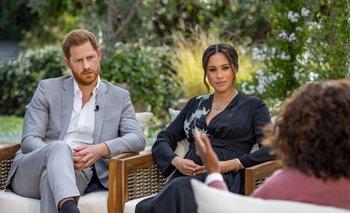 Luego de la entrevista con Oprah, la popularidad de la pareja cayó en Reino Unido