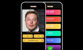 """Elon Musk es una de las personalidades que ha sido """"animada"""" por los usuarios de Wombo."""