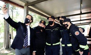El presidente Lacalle Pou se ha transformado en un bombero