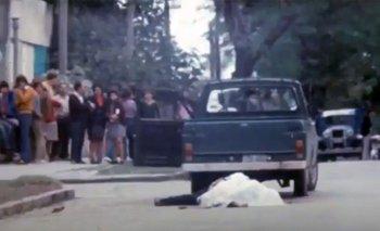 Tupamaro abatido el 14 de abril de 1972