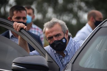 El embajador de Italia destacó el papel de Larrañaga en la captura de Morabito