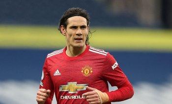 Edinson Cavani vuelve a la titularidad en Manchester United