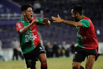 Lozano celebra el gol del triunfo
