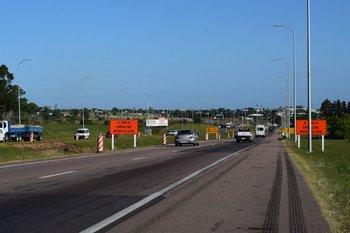La zona que se ha valorizado, ruta 5 y camino Pérez, sector de acceso a la UAM.