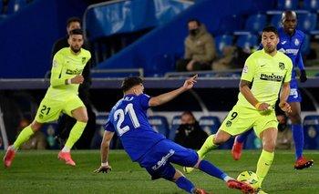 Luis Suárez ante Getafe