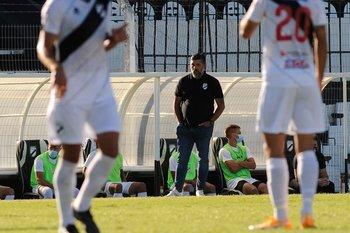 Ramos el sábado contra Nacional