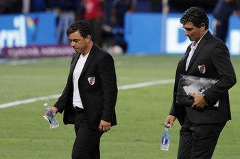 Marcelo Gallardo y Matías Biscay