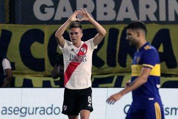 Agustín Palavecino, el empate