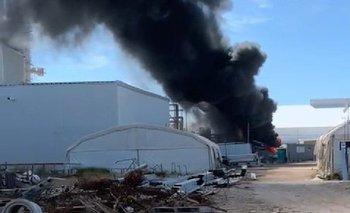 Incendio este domingo en planta de Conaprole en San José