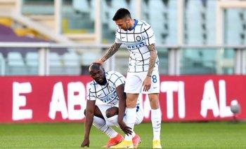 Matías Vecino volvió a jugar en Internazionale de Milán luego de ocho meses