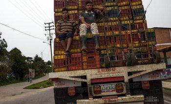 El transporte de alimentos es uno de los sectores más afectados por la escasez de diésel.