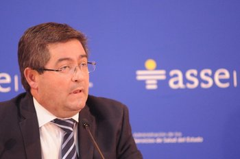 El presidente de ASSE en conferencia