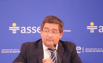 El presidente de ASSE Leonardo Cipriani habló este martes sobre los pacientes fallecidos en Salto y Bella Unión