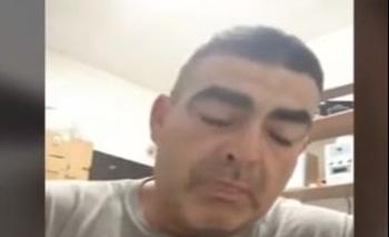 Gabriel Montero, el padre de una joven de 16 años baleada en Córdoba, Argentina