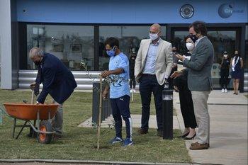 Inauguración de las instalaciones de la Montevideo City Football Academy
