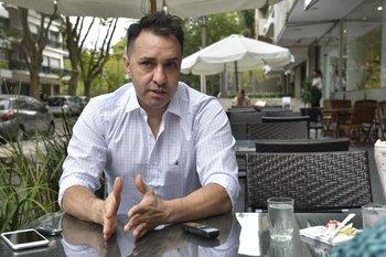 Martín Del Campo fue cuatro veces campeón uruguayo con Nacional y ganó además una Liguilla